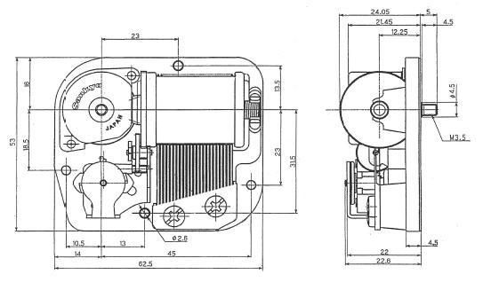 for mechanical music box music box nidec